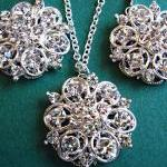 Weddings, Necklace and Earring Set,..